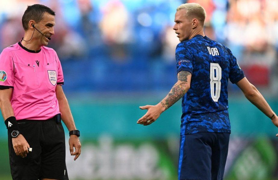 Euro 2020 | Premieră istorică! Ce s-a întâmplat în Polonia – Slovacia, meciul arbitrat de Ovidiu Hațegan