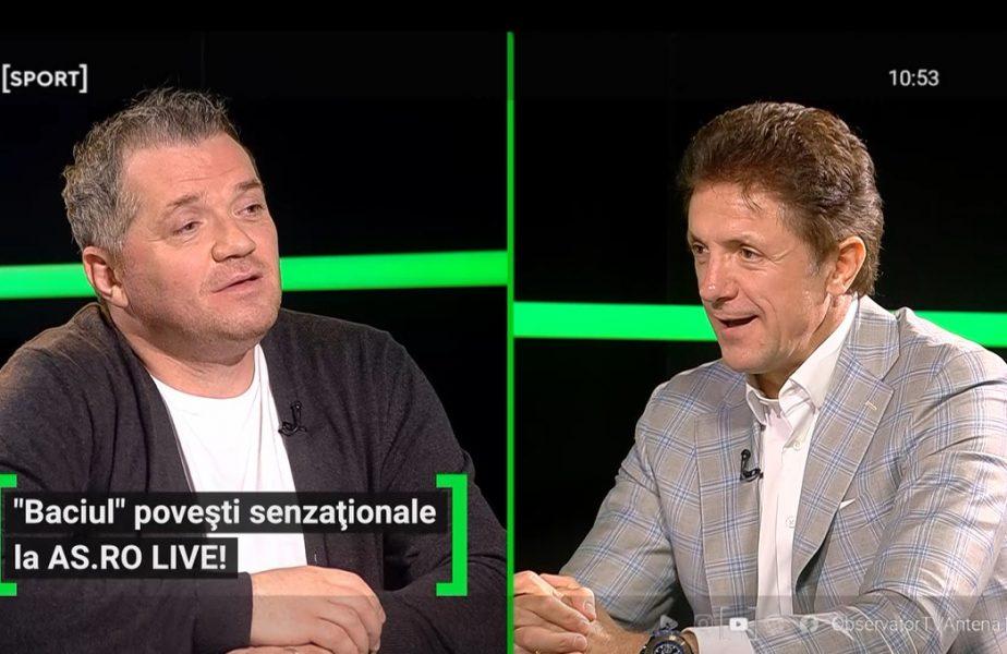 Gică Popescu a fost invitat la AS.ro LIVE