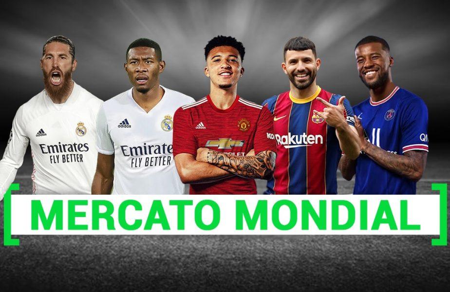 MERCATO 2021 | Cele mai tari mutări sunt AICI. Barcelona l-a luat pe Aguero, Ramos şi Donnarumma au semnat cu PSG. Viitor incert pentru Messi şi Ronaldo