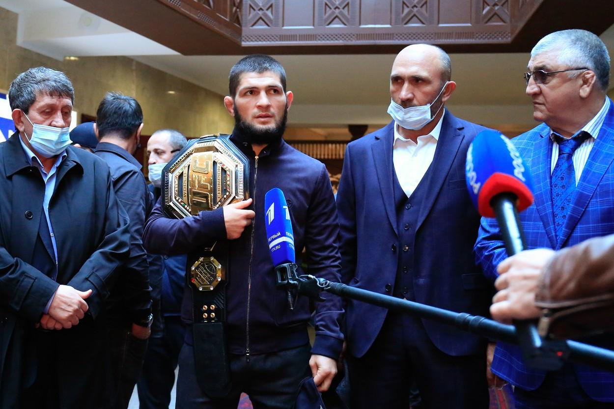 Khabib Nurmagomedov, interzis într-o țară din Europa!