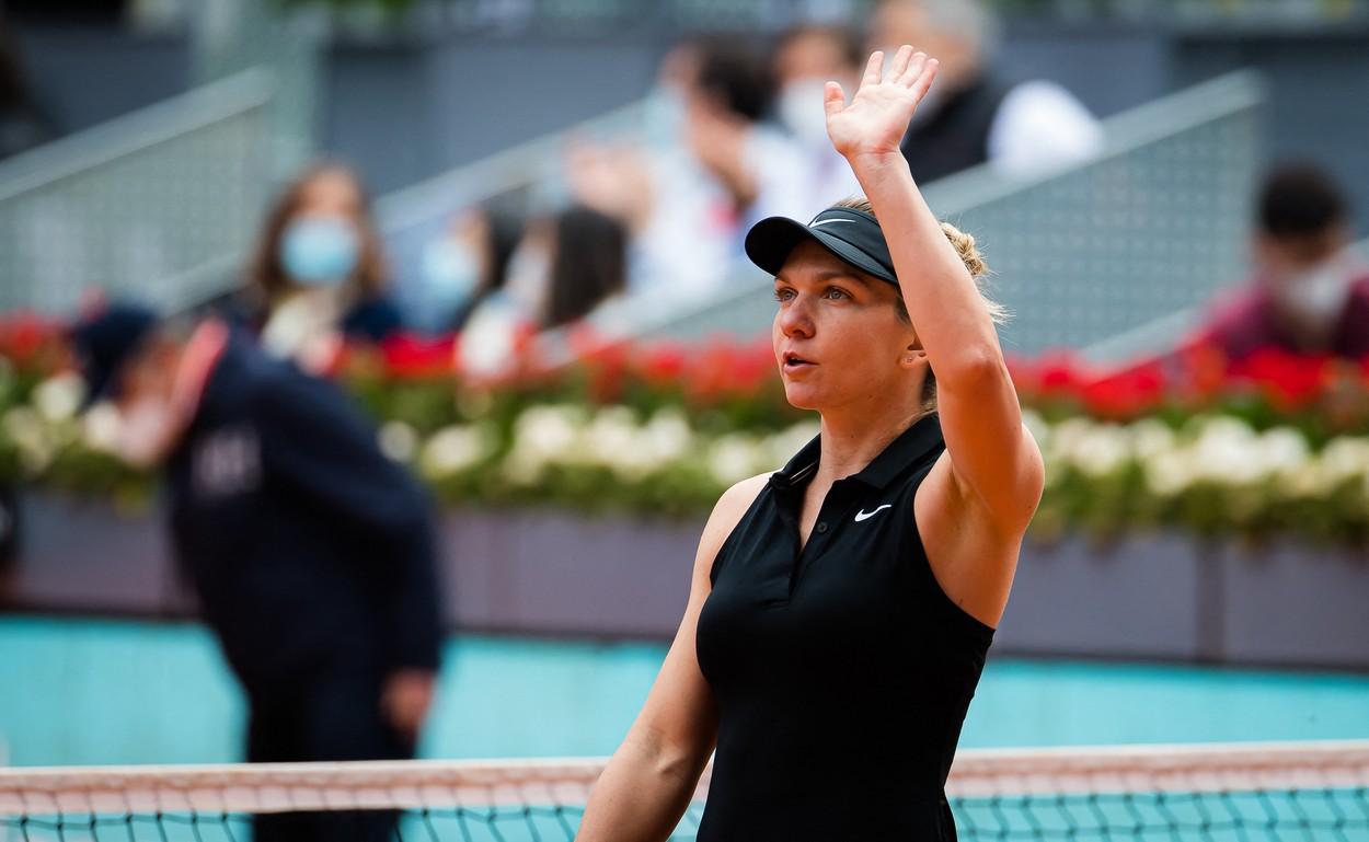 Simona Halep, la turneul de la Roma din 2021
