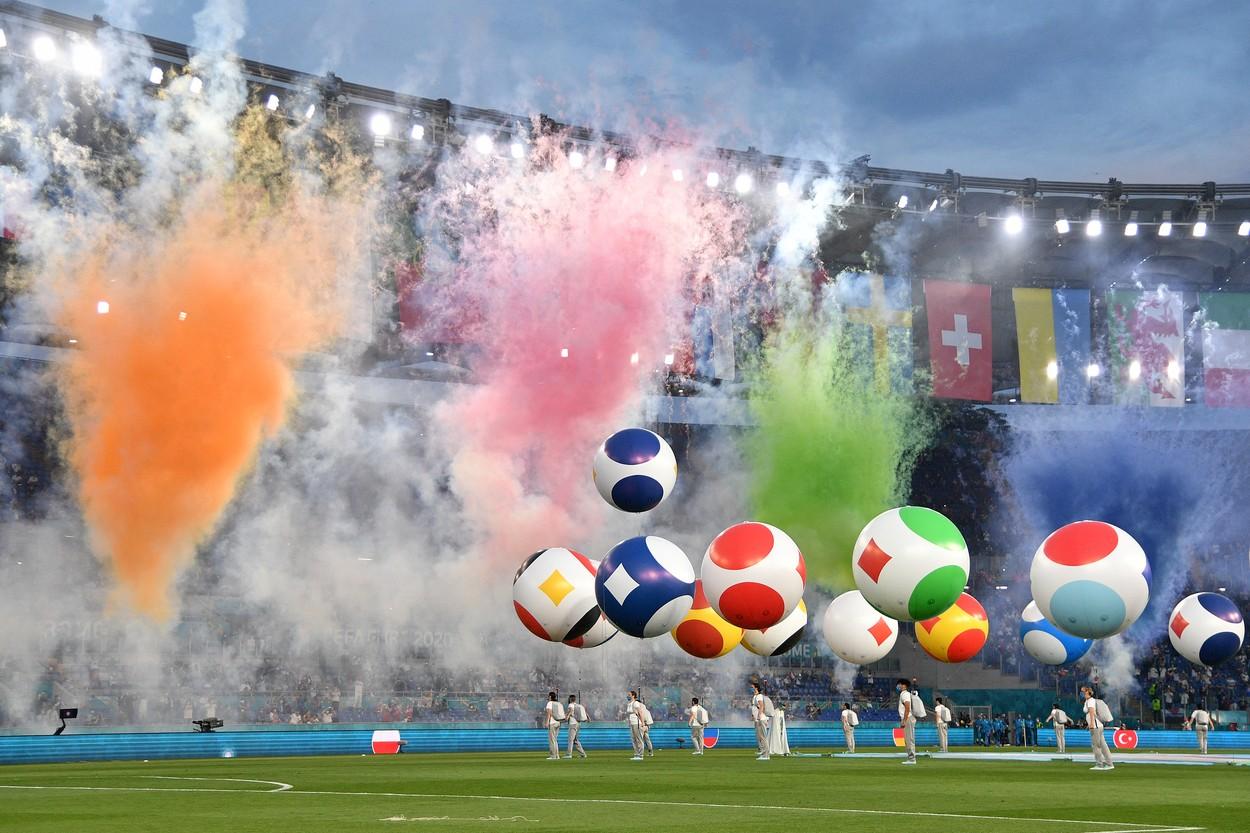 Euro 2020, ceremonie de deschidere / Profimedia