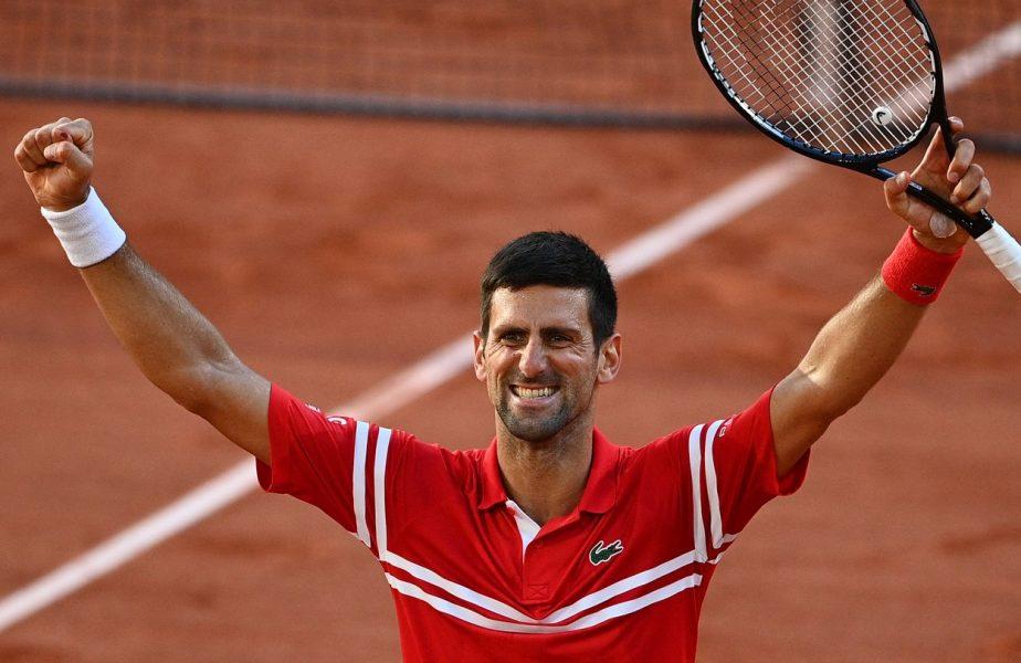 """Prima reacţie a lui Novak Djokovic, după victoria uriaşă cu Tsitsipas: """"E un vis care s-a realizat din nou! Îmi voi aminti toată viaţa"""""""