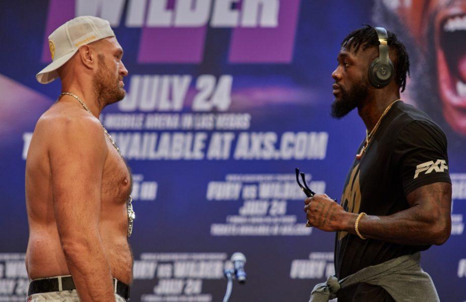 Tyson Fury vs Wilder în iulie