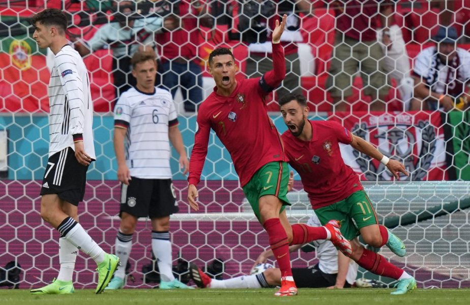 Euro 2020 | Cristiano Ronaldo, gol uimitor în Portugalia – Germania 2-4. În cât timp a sprintat din propriul careu până la poarta lui Neuer + Cine l-a consolat la final