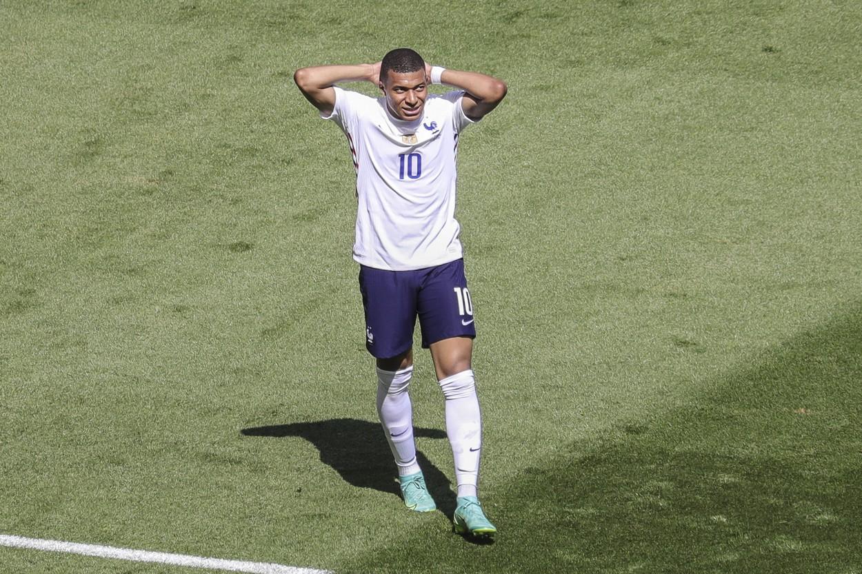Kylian Mbappe la Euro 2020