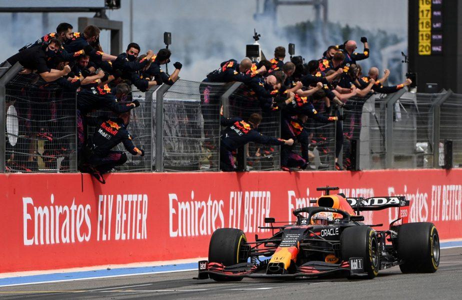 Max Verstappen, victorie în Marele Premiu al Franţei. Al treilea succes al sezonului pentru olandez. Pe ce loc a terminat Lewis Hamilton