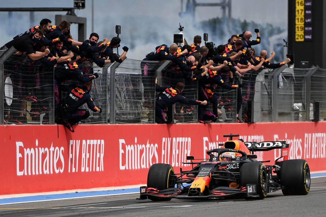 Max Verstappen, victorie în Marele Premiu de Formula 1 al Franţei