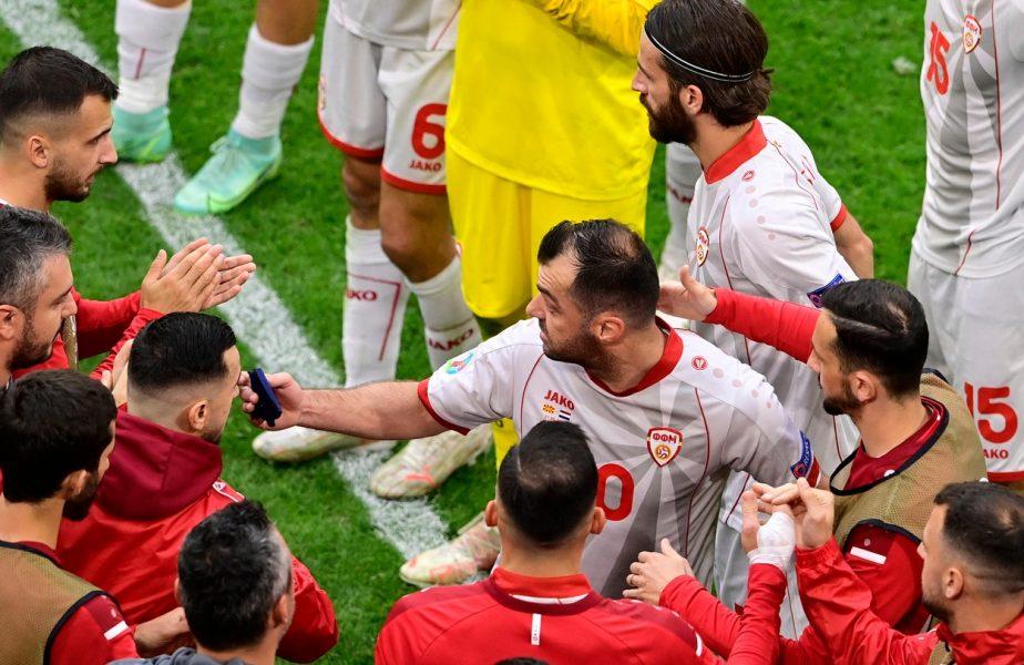 Goran Pandev, omul zilei la Euro 2020. Momente impresionante la Amsterdam. Vedeta Macedoniei de Nord s-a retras de la naţională