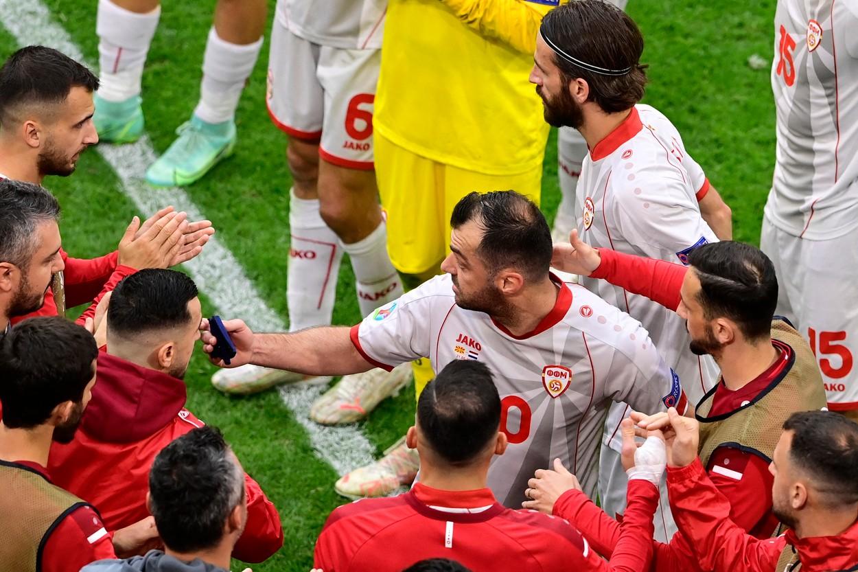 Goran Pandev, Olanda-Macedonia de Nord, Euro 2020