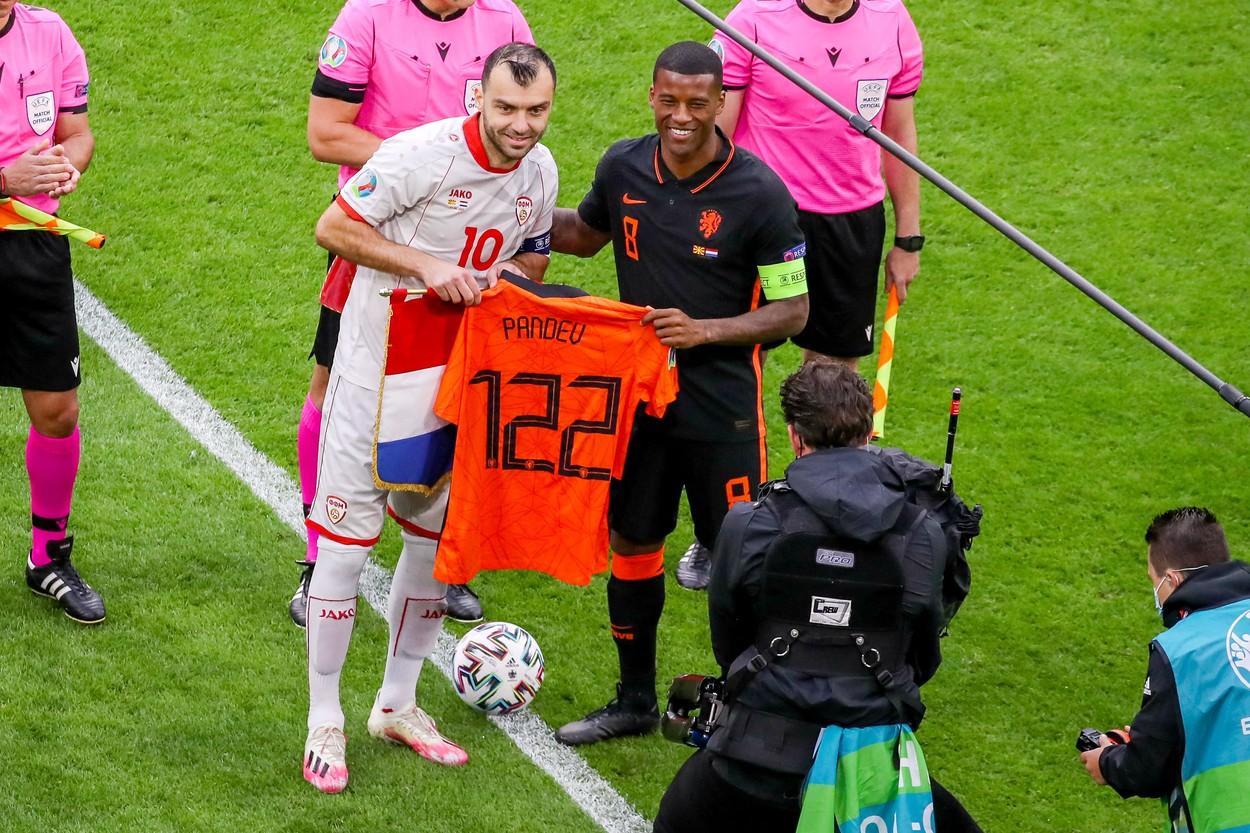 Goran Pandev, omul zilei la Euro 2020 / Profimedia