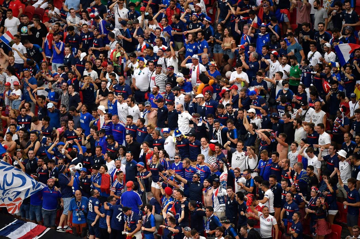 Francezii țipă înaintea meciului de la București