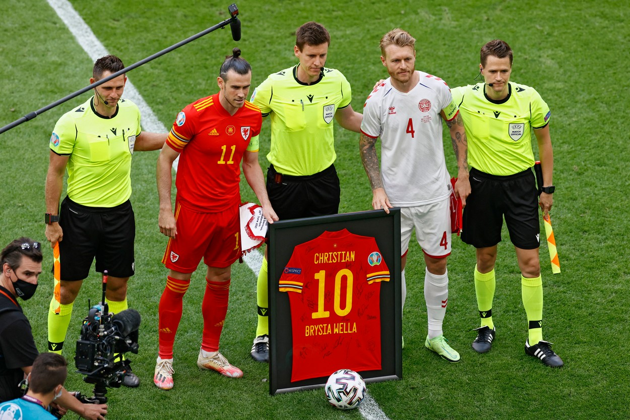 Cadou pentru christian eriksen înainte de Ţara Galilor - Danemarca de la Euro 2020