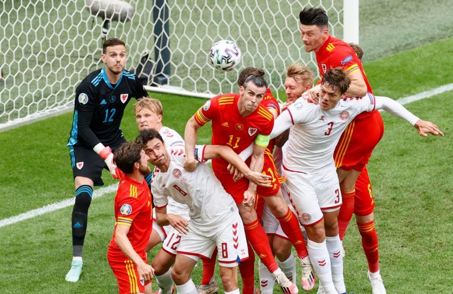 Euro 2020 | Ţara Galilor – Danemarca 0-4. Prima echipă calificată în sferturi. Nordicii au făcut show la Amsterdam. Bale pleacă acasă