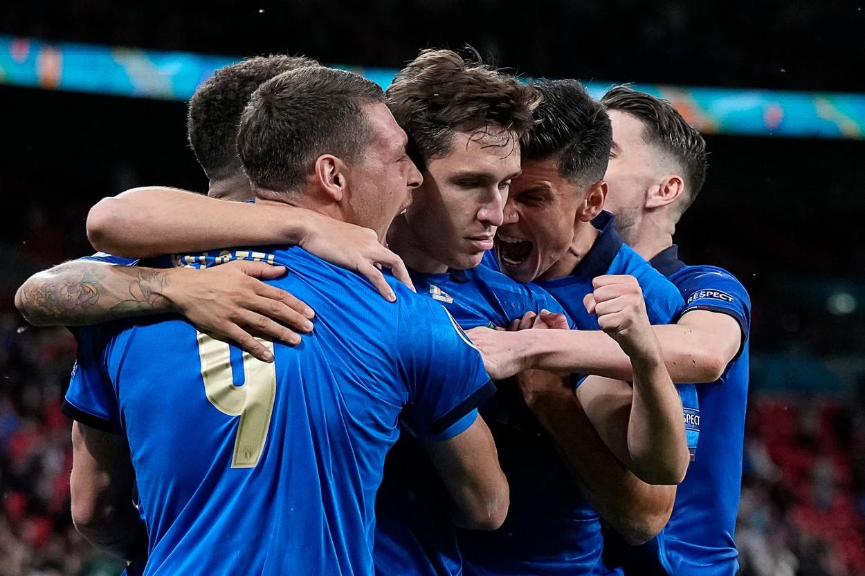 Naționala Italiei, în sferturi la Euro 2020