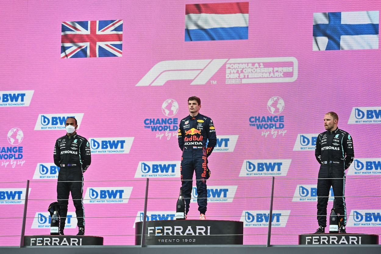 Max Verstappen a câştigat Marele Premiu de Formula 1 al Stiriei