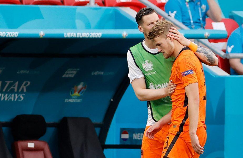 """Euro 2020   Prima reacţie a lui Matthijs de Ligt, după Olanda – Cehia 0-2: """"Am pierdut din cauza mea!"""" Marele regret al lui Frenkie de Jong"""