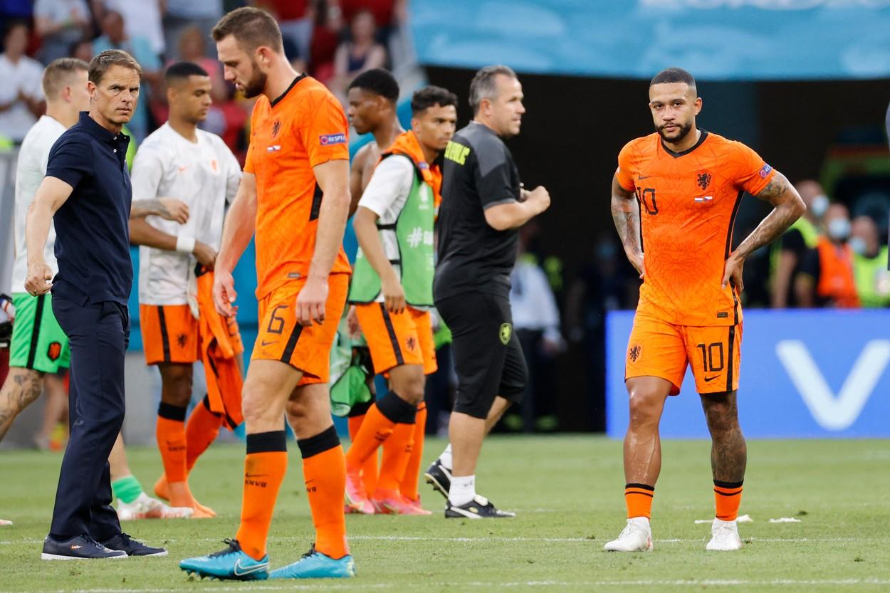 Olanda, eliminată de Cehia de la Euro 2020