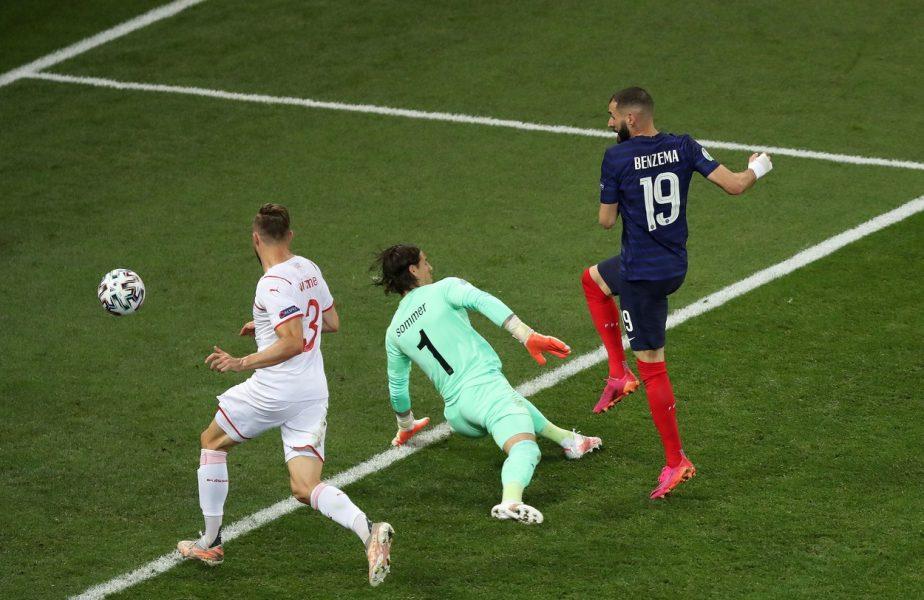 Franţa – Elveţia | Momente nebune pe Arena Naţională! Lloris a apărat un penalty. Benzema, dublă în doar două minute. Pogba, gol magnific