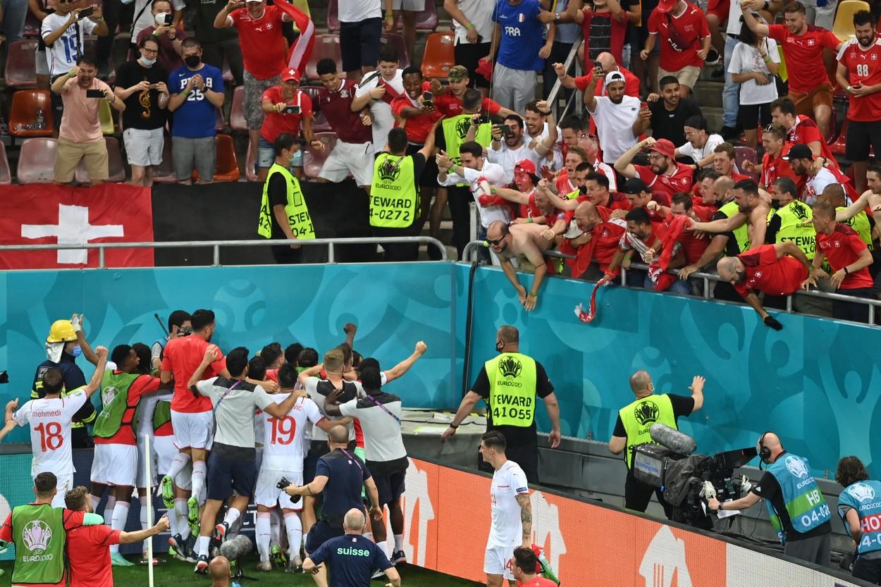 Franţa - Elveţia, Euro 2020, Arena Naţională