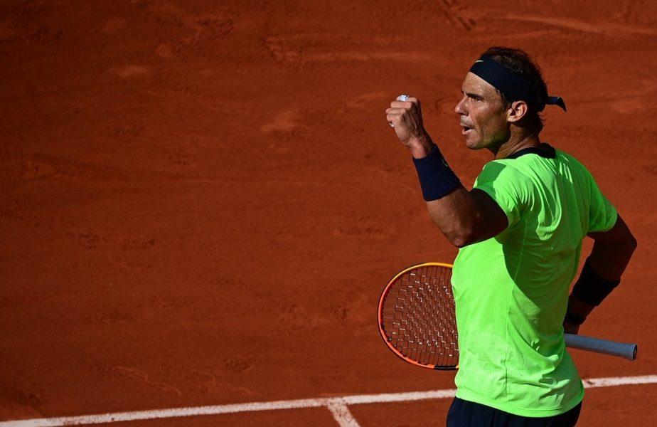 Roland Garros | Rafael Nadal s-a calificat pentru a 14-a oară în semifinale! Spaniolul a cedat primul set după doi ani la Paris