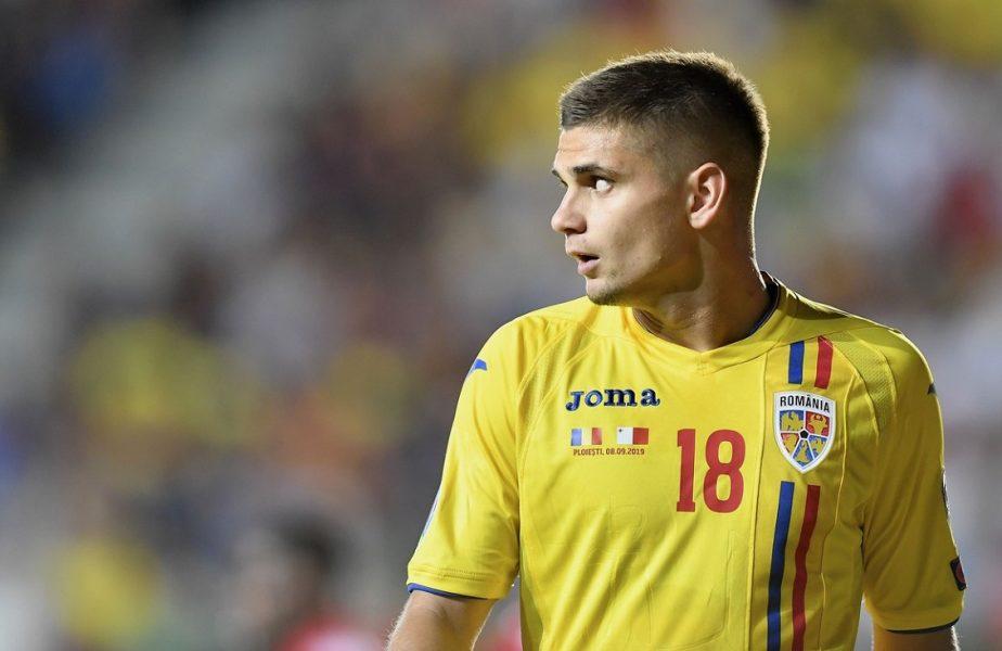 Răzvan Marin, în tricoul echipei naţionale