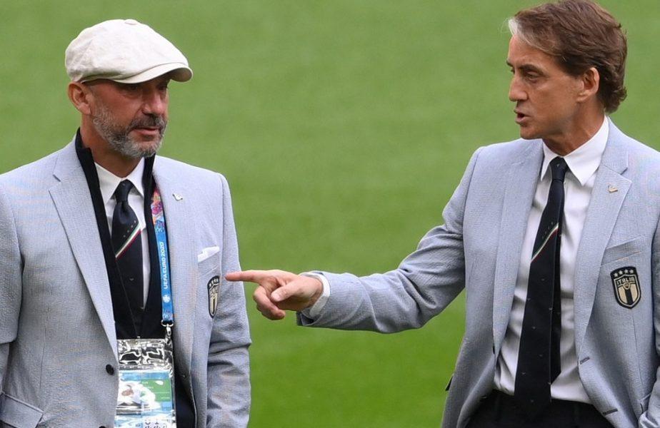 Euro 2020 | Roberto Mancini, clipe memorabile alături de prietenul Gianluca Vialli! Povestea impresionantă din spatele liderilor Squadrei Azzurra