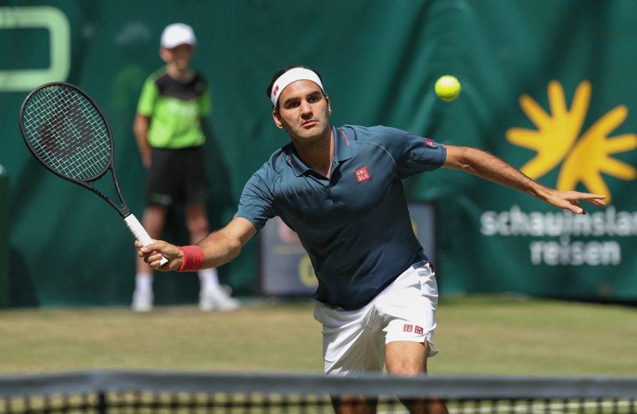 """Roger Federer, învins de un jucător cu 19 ani mai tânăr. """"Este ceva incredibil!"""" Elveţianul a fost eliminat încă din turul 2 la Halle"""