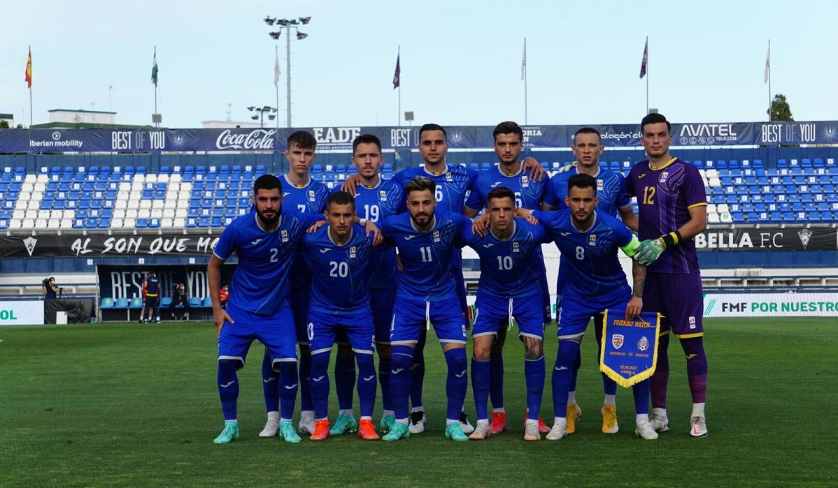 România U23, înaintea meciului amical cu Mexic U23, în cantonamentul de la Marbella