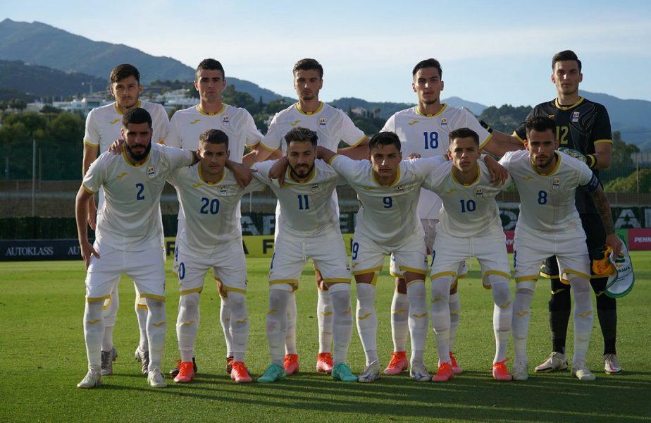 România U23 – Australia U23 1-0 | George Ganea a adus victoria cu o execuţie superbă. Mirel Rădoi l-a lăsat pe Nicolae Dică pe bancă