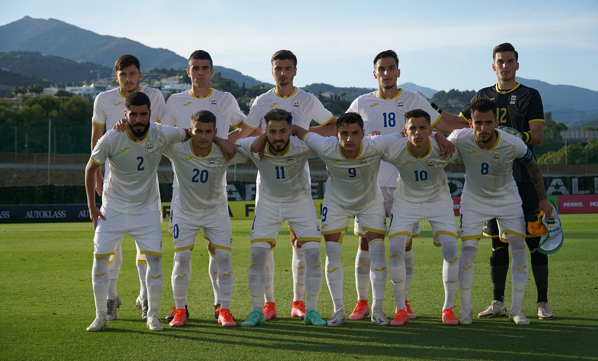 România U23, la meciul amical cu Australia u23, de la Marbella