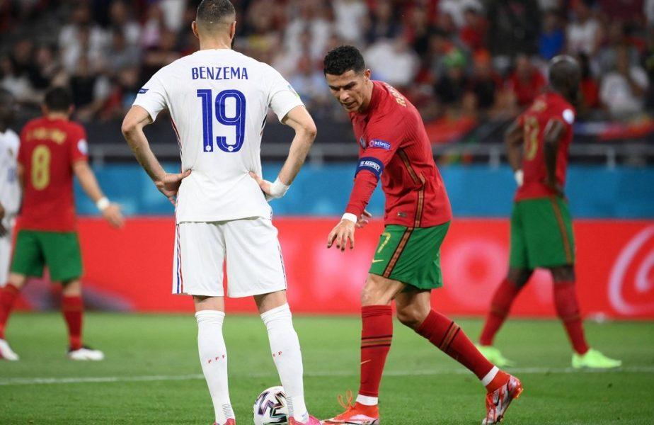 Euro 2020 | Cristiano Ronaldo, faza serii în Franța – Portugalia 2-2. I-a arătat prietenului Benzema unde să paseze mingea