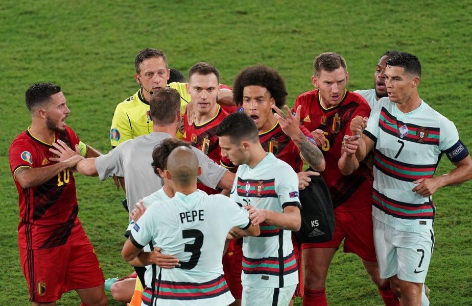 """Atac furibund la adresa unui star al Portugaliei după eşecul cu Belgia. """"E un impostor! Dacă aş fi fost Ronaldo, m-aş fi dus după el în vestiar"""""""