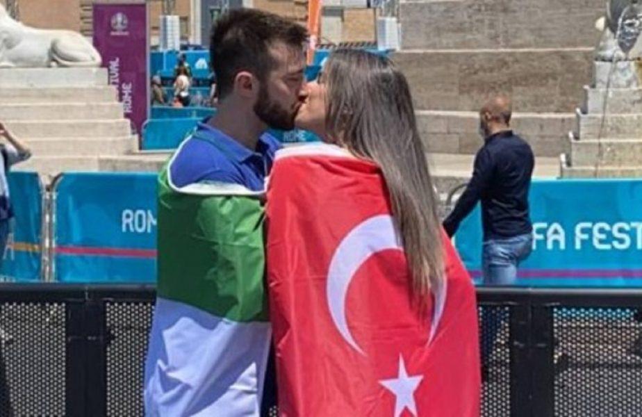 Euro 2020 | Imagini inedite la Roma. Ce au făcut fanii Italiei şi ai Turciei când s-au întâlnit. Totti şi Nesta, invitaţi la ceremonia de deschidere