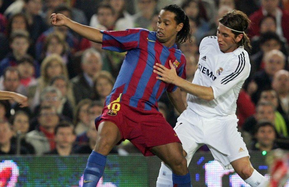 """Schimb de replici fabulos între Ronaldinho și Sergio Ramos. """"Îți aduci aminte de seara asta?/ Da, dar seara asta a fost mult mai bună!"""""""