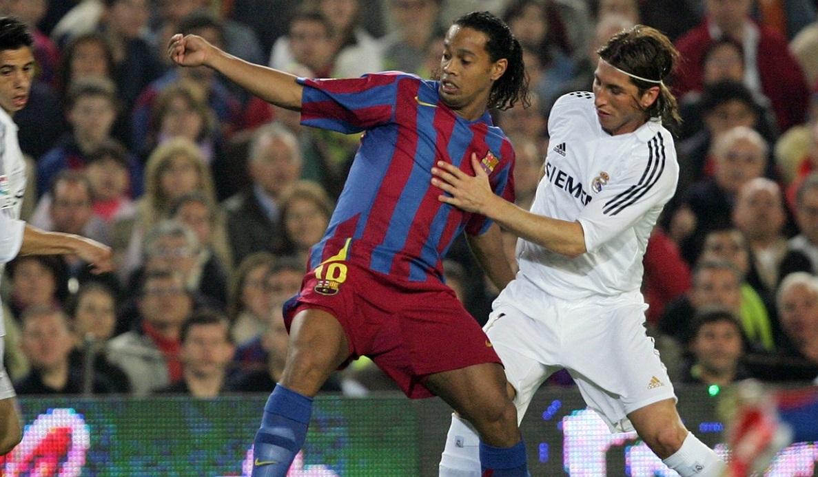 Ronaldinho, dialog cu Sergio Ramos