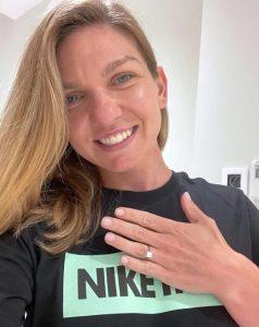 Simona Halep s-a logodit / Sursa: gsp