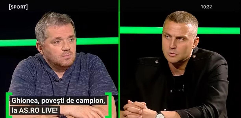 """EXCLUSIV AS.ro LIVE   """"La primul corner a dat gol!"""" Sorin Ghionea, şocat de plecarea lui Sergio Ramos de la Real: """"Sper să nu fie adevărat!"""" Cum l-a uluit Ronaldo: """"Am încercat şi eu şi m-am împiedicat"""""""