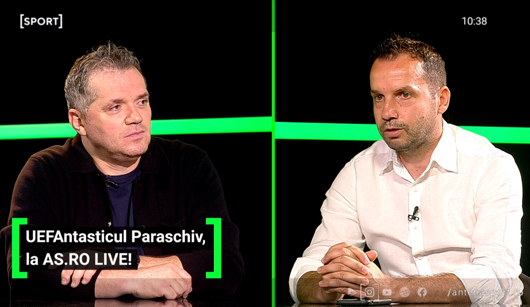 Sorin Paraschiv a fost invitat la AS.ro LIVE