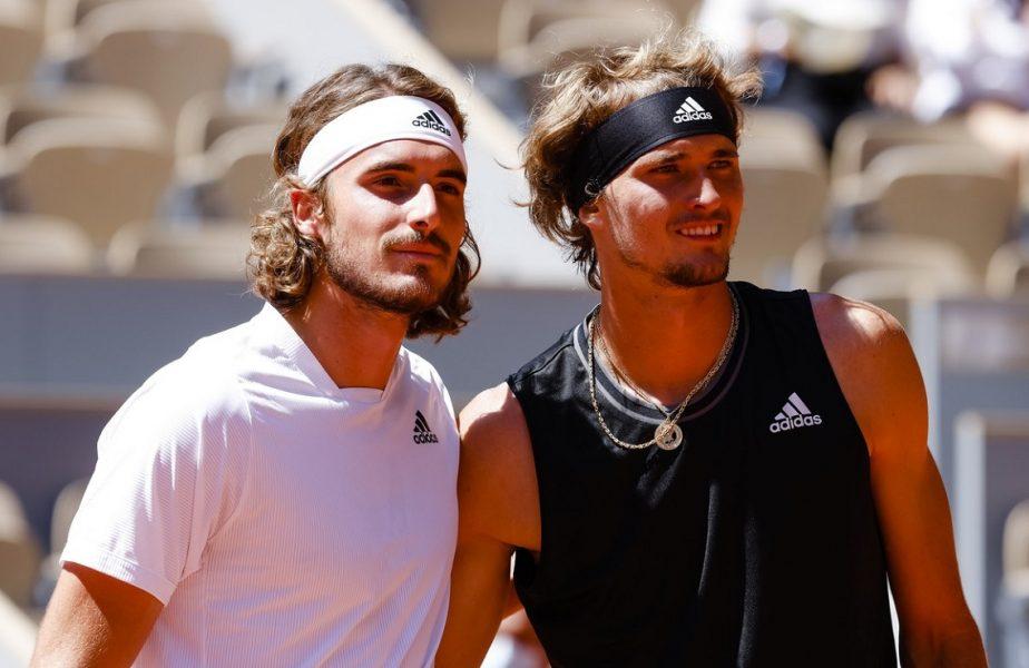 Roland Garros 2021 | Stefanos Tsitsipas, prima finală de Grand Slam a carierei. L-a învins pe Alexander Zverev într-un meci maraton. Criză de nervi a germanului
