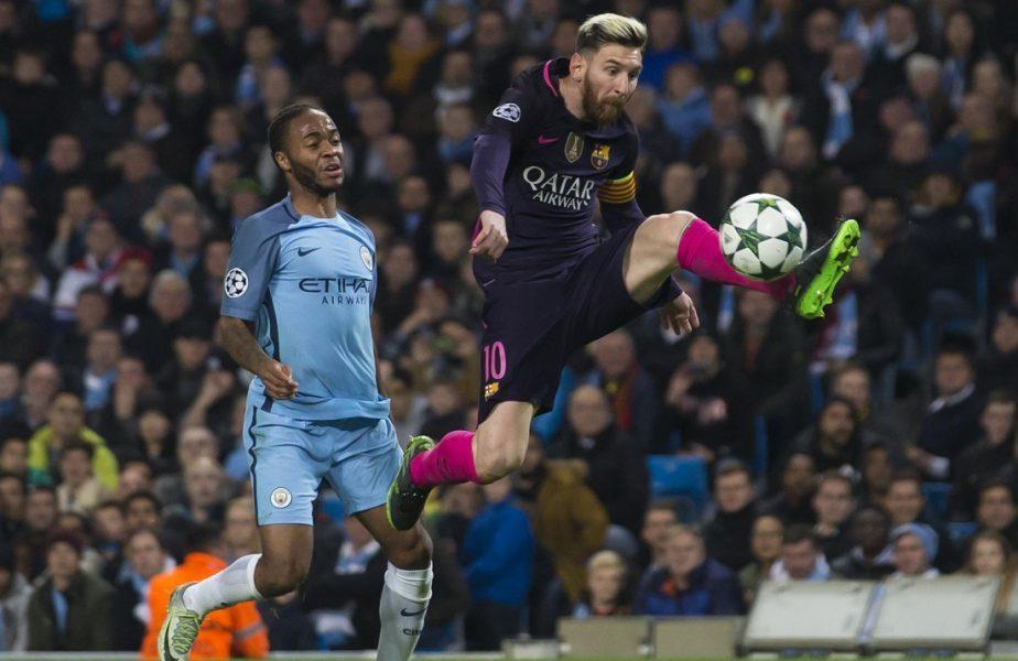 Barcelona încearcă să dea o lovitură de proporţii pe piaţa transferurilor. Raheem Sterling, lângă Messi şi Aguero!