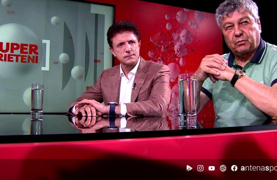 """EXCLUSIV. """"Hagi putea lua Balonul de Aur!"""" Mircea Lucescu, uluit de talentul """"Regelui"""". Hagi e primul SuperPrieten care îşi spune poveştile în filmul lui Popescu"""