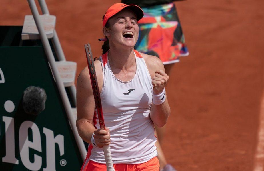 Tamara Zidansek, după victoria cu Sorana Cîrstea, de la Roland Garros 2021