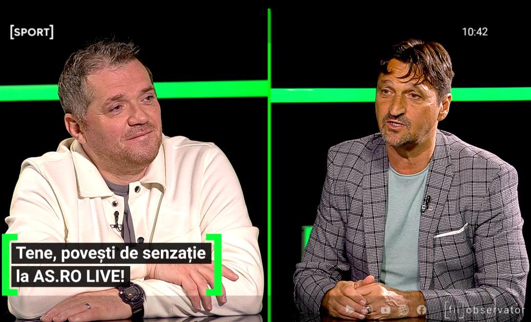 Florin Tene, a fost invitat la AS.ro LIVE