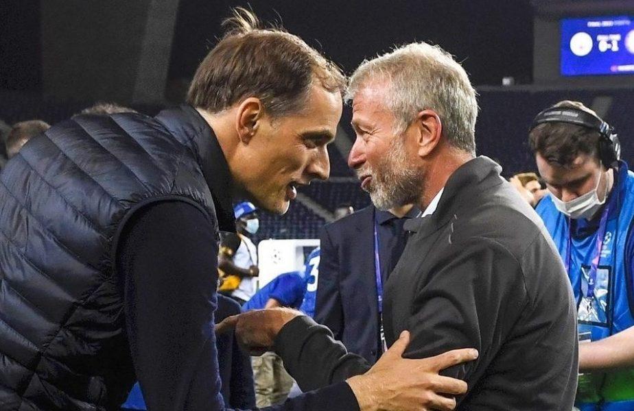 Thomas Tuchel şi Roman Abramovich, la Porto, după câştigarea Ligii Campionilor de către Chelsea