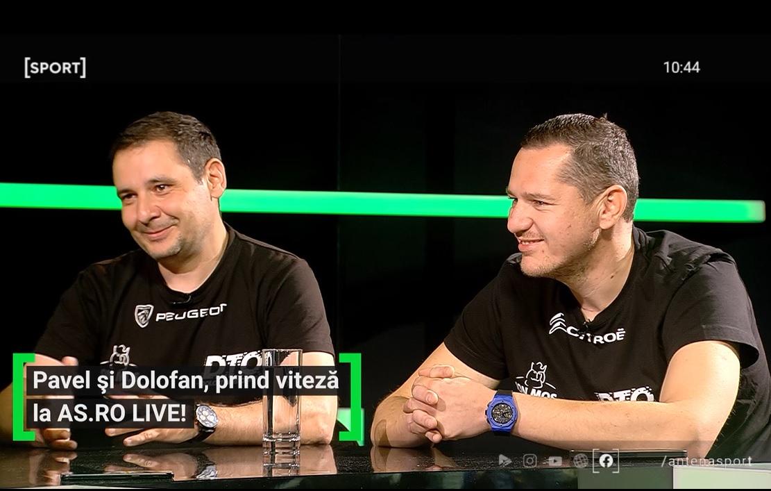 Traian Pavel și Cristi Dolofan la AS.ro LIVE