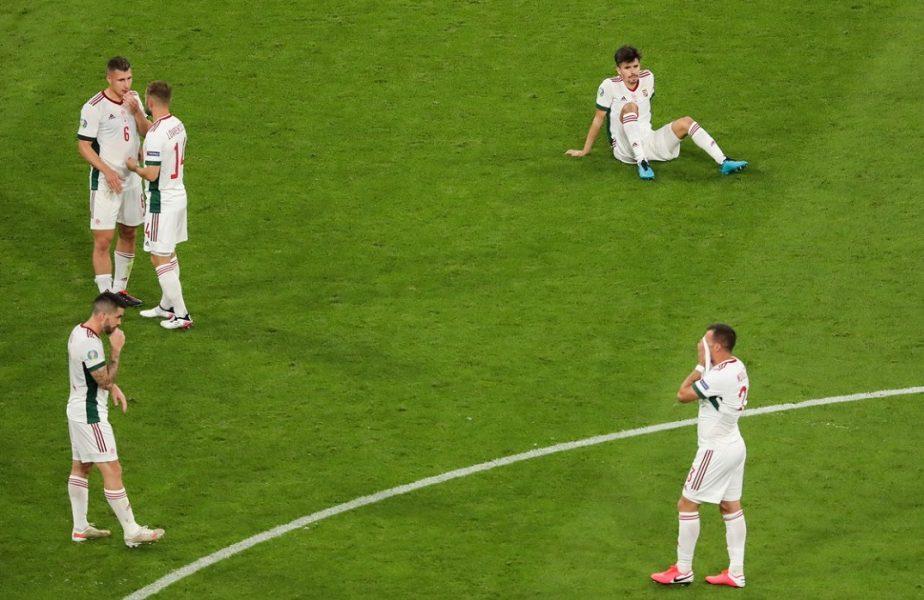 Germania – Ungaria 2-2 | Imaginile disperării pentru maghiari! Jucătorii s-au prăbușit pe gazon după finalul dramatic împotriva nemților