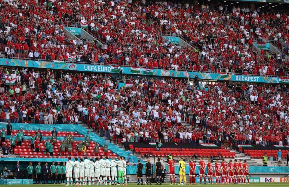 Euro 2020 | Atmosferă copleșitoare la Ungaria – Portugalia! 67.000 de spectatori fac spectacol în tribune
