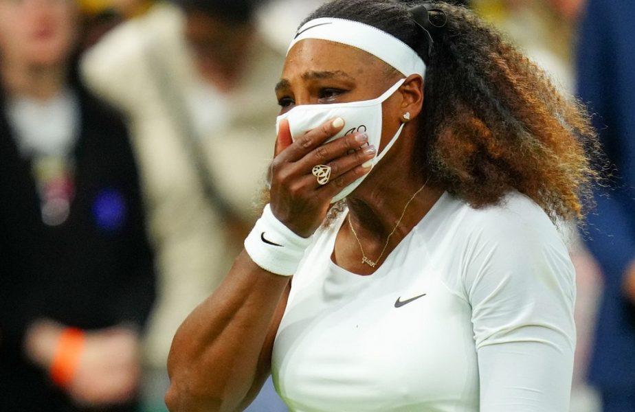 Cutremur la Wimbledon 2021! Serena Williams, imagini dureroase! Lacrimile americancei după ce s-a accidentat în prima rundă
