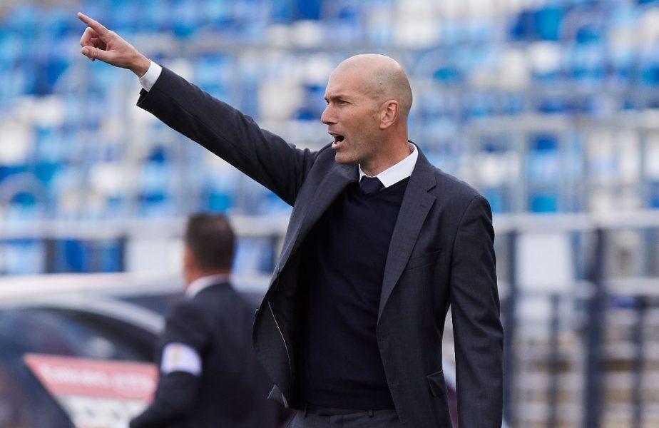 Zinedine Zidane şi clauza uriaşă de 10 milioane de euro